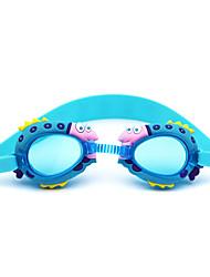 Óculos de Natação Anti-Nevoeiro Gel Silica PC Vermelho Rosa Azul Azul Escuro Vermelho Rosa Azul Azul Escuro