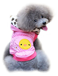 cheap -Dog Coat Dog Clothes Yellow Pink Polar Fleece Costume For Pets Men's Women's Fashion