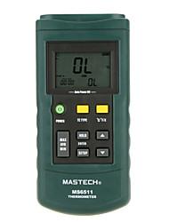 Недорогие -Mastech ms6511- единственный путь к / J / T / E датчик температуры термопары типа - единственный путь температуры GAUG