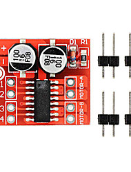 2~10V Dual H-bridge Motor Driver Module Over-heat Protection PWM Speed Adjust