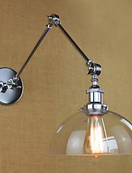 Applique murale Lumière d'ambiance 40W 110-120V 220-240V E26/E27 Moderne/Contemporain Plaqué