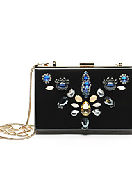 Women Bags Fall Metal Clutch Pearl Imitation Pearl Crystal/ Rhinestone Acrylic Jewels for Wedding Event/Party Casual Formal Professioanl