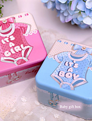 1 Piece/Set Favor Holder - Cubic Metal Gift Boxes Non-personalised