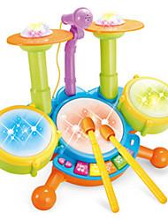 Недорогие -Музыкальные игрушки Игрушки Электрический Ударная установка Мультяшная тематика Куски Мальчики Девочки Рождество День рождения День детей