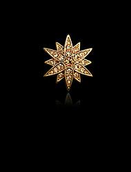 Per uomo Da donna imitazione diamante Lega Di tendenza Argento Dorato Gioielli Matrimonio Feste Quotidiano Casual