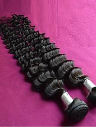 Недорогие -оптовые 8а бразильские виргинские волос глубокая волна 8шт много необработанной бразильские выдвижения человеческих волос ткет волосы Remy