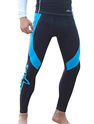 economico -SABOLAY Per uomo Pantaloni muta Mute stagne Resistente ai raggi UV Compressione Tactel Elastene Scafandro Leggings da sub Costumi da bagno