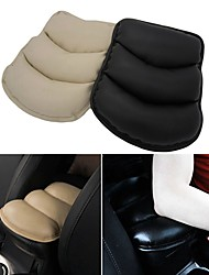 ZIQIAO Car Auto handrests Cover  hand Rest Seat Box Pad Protective Case Soft PU Mats Cushion Universal