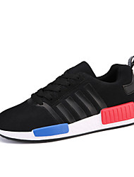 Unisex Athletic Shoes Spring Summer Fall Creepers Couple Shoes Light Soles Tulle Outdoor Office & Career Casual Platform Lace-up Walking
