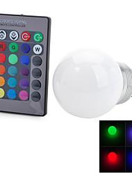 E26/E27 Lâmpada Redonda LED T 1 leds LED Integrado Controle Remoto Decorativa RGB 100-200lm 2700-6500K AC 85-265V