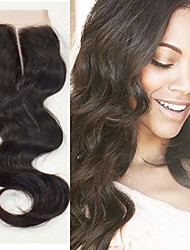 12inch Human Hair Lace Closure Body Wave Middle Part Human Hair Lace Closure