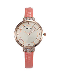 cheap -Women's  Fashion  Simplicity  Creative Quartz  Leather Lady Watch
