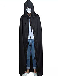 cheap -Black Halloween Hooded Cape Wizard/Witch Wedding Cloak Coat Shawl Halloween/Christmas/New Year