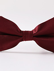 cheap -Men's Party/Evening Wedding Wine Red Paisley Formal Twill Bow Tie