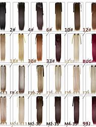 billige -Neitsi Korstyåe Menneskehår Extensions Lige Syntetisk hår / Ret
