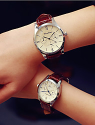 cheap -2016 Fashion Simple Unisex Couple's Watches Student Men Or Women Calendar Watch (Assorted Color) Cool Watches Unique Watches