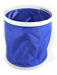 baratos -irrigação do jardim 9L azul balde multifuncional lona dobrável portátil