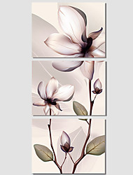 Popular 3Pcs Hot Sell Modern Wall Painting Flower Home Decorative Wedding Art Picture Paint On Canvas Prints Gift