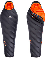 cheap -HIGHROCK Sleeping Bag Mummy Bag Goose Down -15-10°C Keep Warm Ultra Light (UL) Oversized Compression 203cm Hunting Hiking Beach Camping