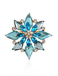 Da donna Pietre preziose Acrilico Strass imitazione diamante Lega Di tendenza Gioielli Feste Quotidiano Casual