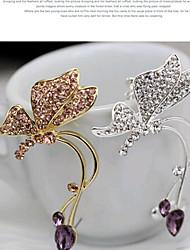 Punhos da orelha Liga Prata Dourado Jóias Para Diário Casual 1peça