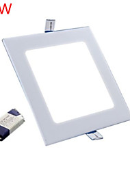 cheap -9W 800LM Square Ceiling Lamp LED Panel Lights LED Recessed Downlight(85-265V)