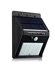 cheap -1 pc LED Solar Lights Solar Sensor Rechargeable Waterproof