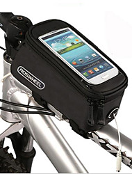 Bike Frame Bag Cell Phone Bag 4.2/4.8/5.5 inch Skidproof Multifunctional Touch Screen Cycling for Iphone X Other Similar Size Phones