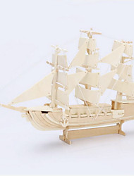 3D Puzzles Jigsaw Puzzle Wooden Puzzles Toys Ship 3D Simulation Pieces