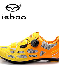 cheap -Tiebao® Road Shoes Bike Cycling Shoes Men's Anti-Slip Cushioning Ventilation Impact Waterproof Breathable Wearproof Mountain Bike Road