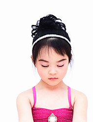 cheap -Dance Accessories Headpieces Women's Performance Sequined Paillette Ruffles Hair Band