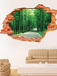 Botanical / Paesaggio Adesivi murali Adesivi 3D da parete,PVC 60*90CM