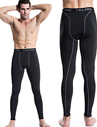 cheap -Men's Running Pants Quick Dry Compression Tights Leggings Bottoms Yoga Exercise & Fitness Racing Leisure Sports Basketball Cycling / Bike