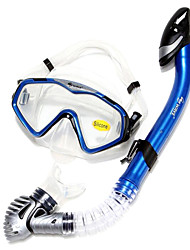 Šnorchlovací sady Šnorchly Potápěčské masky Brýle na plavání Sada na šnorchlování Suchá koncovka Plavání Potápění a šnorchlování. Silikon