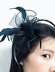 cheap -Feather Net Fascinators Headpiece Elegant Classical Feminine Style