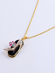 cheap -8GB Necklace High Heels Shoe Jewelry USB 2.0 Rotatable Flash Memory Stick Drive U Disk ZP-11