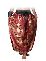 economico -Danza del ventre Pantaloni Per donna Prestazioni Cotone A fantasia / stampa Cadente Pantaloni