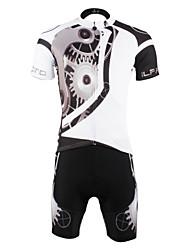 povoljno -ILPALADINO Biciklistička majica s kratkim hlačama Muškarci Kratki rukav Bicikl Biciklistička majica Kratke hlače Kompleti odjećeQuick dry