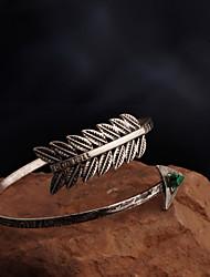 abordables -Mujer Brazaletes - Personalizado, Moda Pulseras y Brazaletes Plata Para Regalos de Navidad / Fiesta / Diario