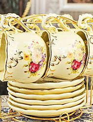 Недорогие -Стекло Чайные чашки Украшение Подруга Gift 6 Кофе Чайный Вода Сок Drinkware