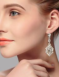 billige -Dame Rhinsten Legering Rund Smykker Kostume smykker