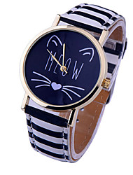 cheap -Women's Watches Vintage Bobo Watch Letter, Geneva Watch, Leather Wristwatch, Watch Notes, Students Watch, Gift Idea Cool Watches Unique Watches