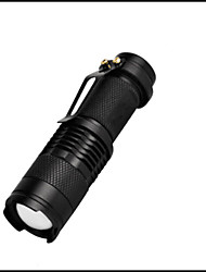 1 LED Taschenlampen LED 350 Lumen 3 Modus LED Batterien nicht im Lieferumfang enthalten Mini einstellbarer Fokus Stoßfest Wasserfest