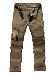 economico -Per uomo Casual Dritto Pantaloni della tuta Chino Pantaloni, Tinta unita Poliestere Per tutte le stagioni