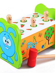 Недорогие -образовательный хомяка перкуссии fruitworm большие деревянные игрушки детские на раннем детстве