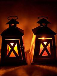 Valentine'S Day Creative Romantic Wedding Arts Crafts Gift Europe Type Restoring Ancient Ways Wooden Candlesticks