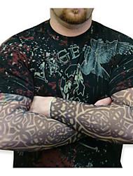 manicotti del tatuaggio desigh 2016 nuovo arrivo manicotti bracciale ciclismo sole traspirabilità bicicletta elastico (coppia)