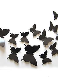 abordables -Paisaje Animales Romance De moda Formas Fantasía 3D Caricatura Día Festivo Transporte Pegatinas de pared Calcomanías 3D para Pared