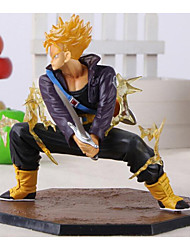 cheap -Dragon Ball Z Super Saiyan Trunks Battle Version Boxed PVC Action Figure Model Collection Toy 14cm
