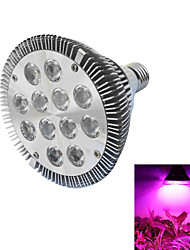 12W E26/E27 LED Grow Lights PAR30 12 leds High Power LED 490-700lm Red Blue AC 85-265